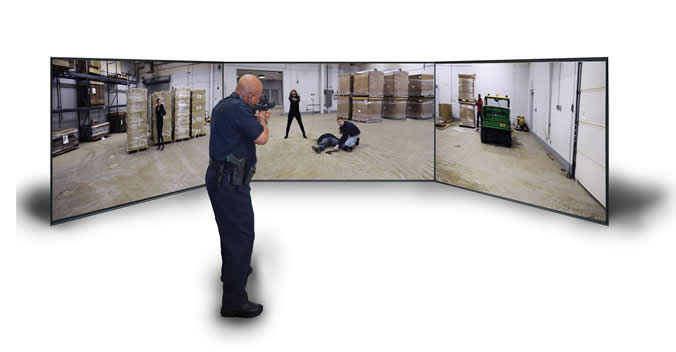 SGI Shooting Simulator Training